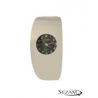 Zegarek srebrny na bransolecie nr KO 01-36 okrągły