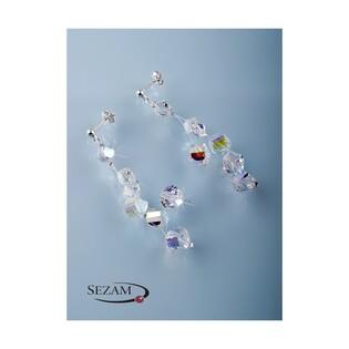 Kolczyki srebrne z kolekcji Grace z kryształami Swarovski nr RD 543-1