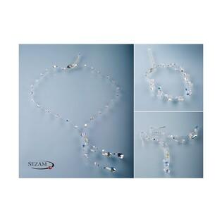 Kolczyki srebrne z kryształami Swarovski nr RD 451-1 kolekcja Grace
