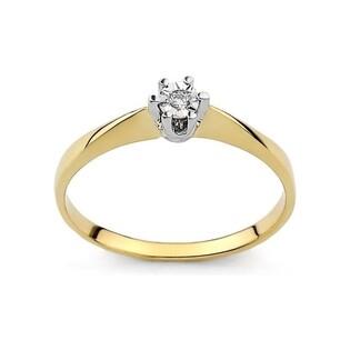 Pierścionek zaręczynowy z brylantem Royal Magic nr DI 165