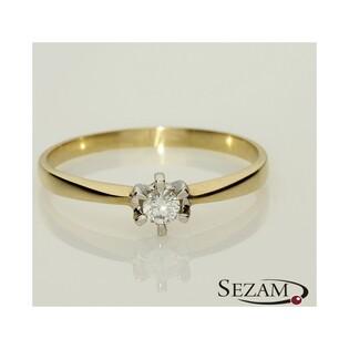 Pierścionek zaręczynowy z brylantem nr DI 271/05 Soliter