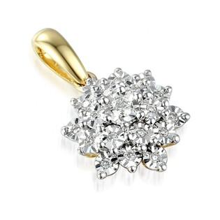 Zawieszka z diamentami kolekcja Bridell nr AW 49568 YW złoto 14 karat