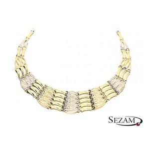 Naszyjnik złoty Kleopatra nr OP OP222