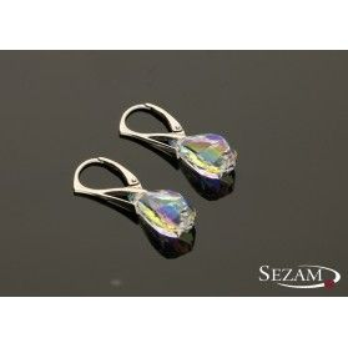 Kolczyki srebrne z kryształami Swarovski nr RD 549-1