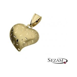 Serduszko złote nr AR 8313-4
