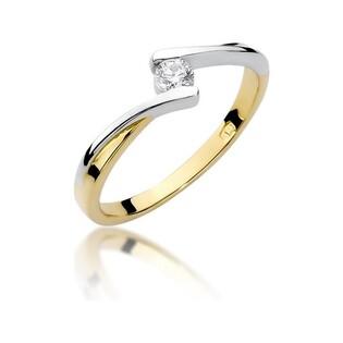 Pierścionek MARIAGE BE W-180 próba 585 Sezam - 1