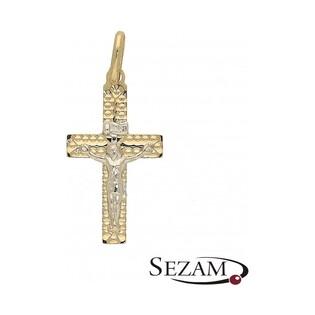 Krzyżyk złoty dla dziecka nr OP412