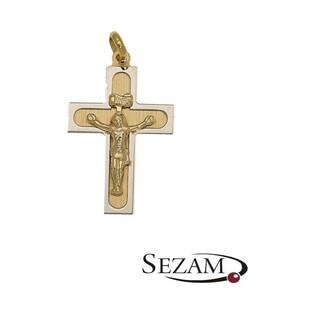 Krzyżyk złoty nr OP433