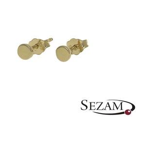 Kolczyki złote  nr MZ E1115-5 próba 585