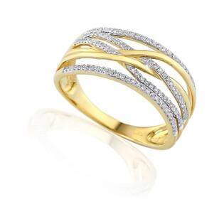 Pierścionek zaręczynowy z diamentami nr AW 40366 VENEZIA