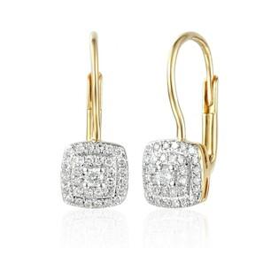 Kolczyki z diamentami nr AW 45732 Sezam - 1
