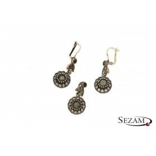 Komplet srebrny biżuterii Sophie Thao nr SR 61N