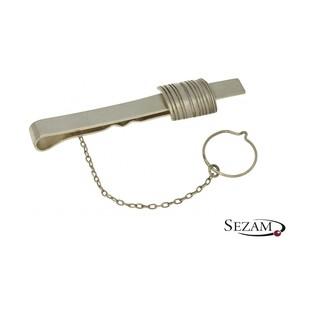 Spinka srebrna do krawata męska nr YE AMCF022