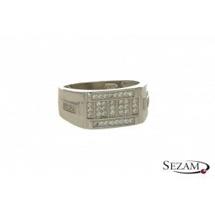 Sygnet męski srebrny nr TB TB532 kolekcja SteelMan