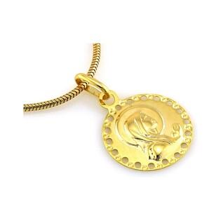 Medalik złoty z Matką Boską numer CI 1544A