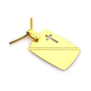Medalik złoty nr CI 2689A próby 585
