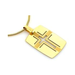 Medalik złoty nr CI 2683A próby 585