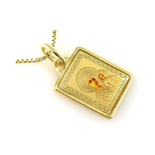 Medalik złoty nr CI 2783 próby 585
