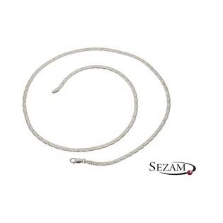 Łańcuszek srebrny męski numer BC 1765-060 ROD