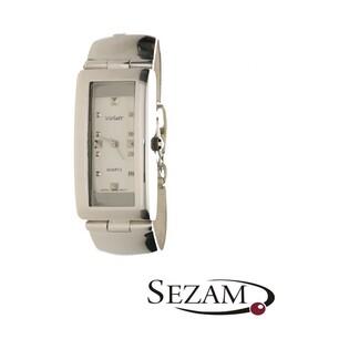 Zegarek srebrny damski VIOLETT numer KO 03-23 prostokąt