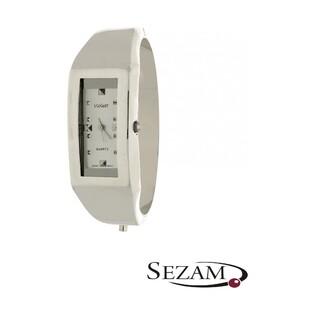 Zegarek srebrny damski VIOLETT numer KO 01-39 prostokąt zap.szuflad