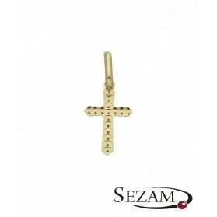 Krzyżyk złoty numer BC 215697