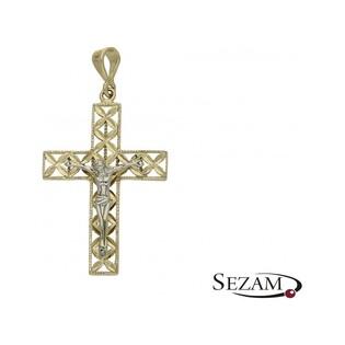 Krzyżyk złoty numer FL224