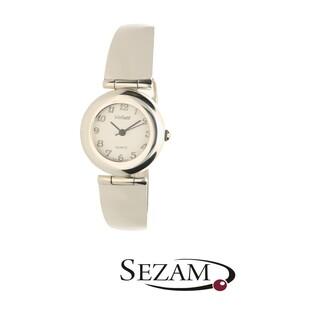 Zegarek srebrny damski VIOLETT numer KO 04-08 okrągły a