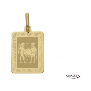 Zodiak złoty Bliźnięta numer Os 204-Z062-GEM