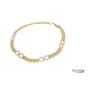 Bransoleta damska złota numer MI MI214/BRA