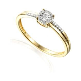 Pierścionek zaręczynowy z brylantami numer AW 46976 YW Sweet bis