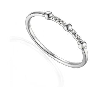 Pierścionek zaręczynowy z brylantami RINGS numer AW 60112 W białe złoto