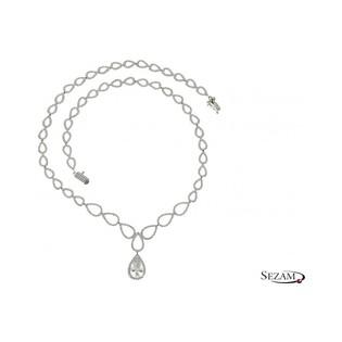 Komplet biżuterii srebrnej Azzurro numer A0 A005/N+K+B