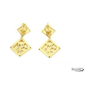 Kolczyki złote z kolekcji Graziella numer MI MI15/KOL