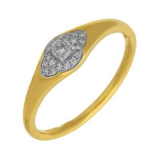 Pierścionek zaręczynowy z diamentami WENUS numer AW 63752 YW
