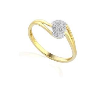 Pierścionek zaręczynowy z diamentami Mirage bis numer AW 47781 YW