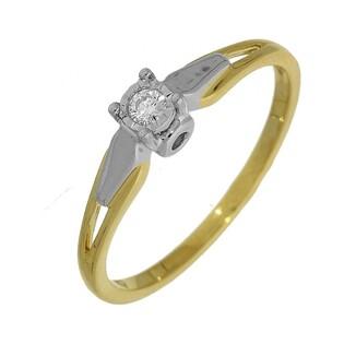 Pierścionek zaręczynowy z diamentem Soliter Magic numer KU 4320