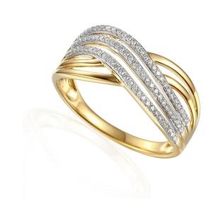 Pierścionek zaręczynowy z diamentami numer AW 63737 Y VENEZIA