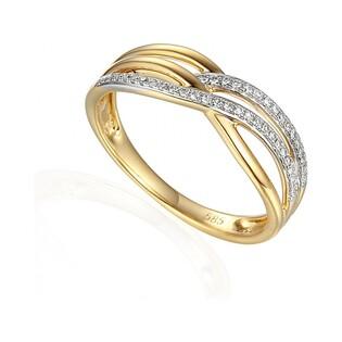 Pierścionek zaręczynowy z diamentami numer AW 63724 Y VENEZIA