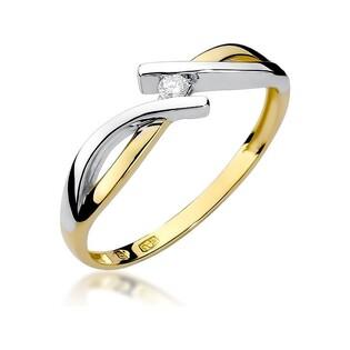 Pierścionek MARIAGE BE W-191 próba 585 Sezam - 1