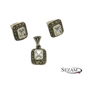 Zawieszka srebrna z kolekcji Art Deco numer MLZK0018