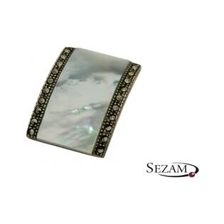 Zawieszka srebrna z kolekcji Art Deco numer VE02