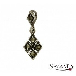 Zawieszka srebrna z kolekcji Art Deco numer YE04