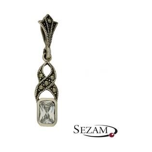 Zawieszka srebrna z kolekcji Art Deco numer YE05