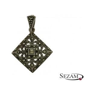 Zawieszka srebrna z kolekcji Art Deco numer YE01