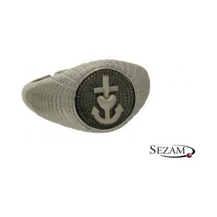 Sygnet srebrny z kolekcji Steelman numer NI/02/1/SY/silver
