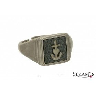 Sygnet srebrny z kolekcji Steelman numer NI/02/2/SY/silver
