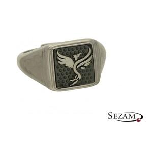 Sygnet srebrny z kolekcji Steelman numer NI/04/SY/silver