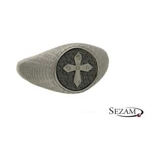 Sygnet srebrny z kolekcji Steelman numer NI/06/SY/silver