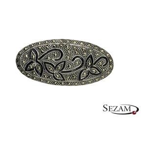 Broszka srebrna z kolekcji Art Deco numer MLOZ0303